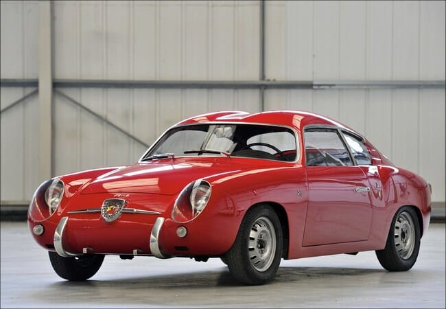 Abarth Zagato Double Bubble