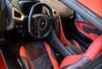 Aston Martin Zagato Interior