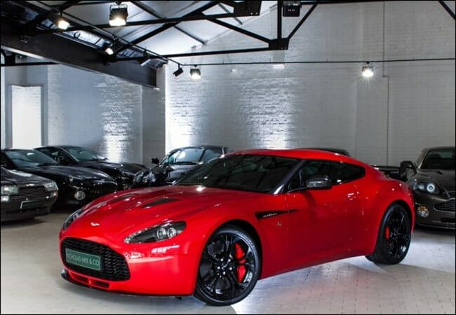 Aston Zagato For Sale