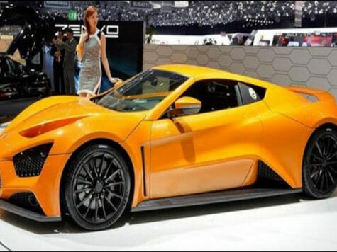 Zenvo Automotive, At This Year's Geneva Motor Show, Has Came With The Model St1