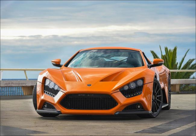 Want to Know More About Zenvo St1 Orange?