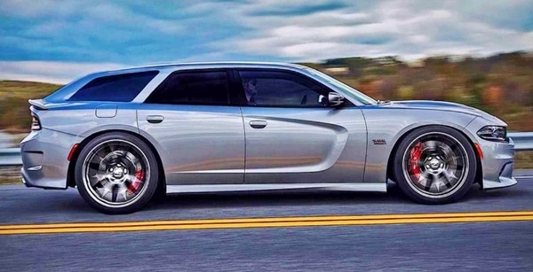 The 2018 Dodge Magnum Exterior