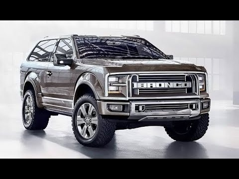 The 2018 Ford Bronco Exterior