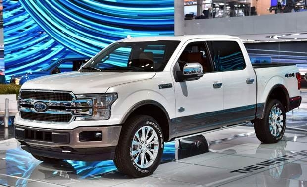 The 2018 Ford F100 Exterior