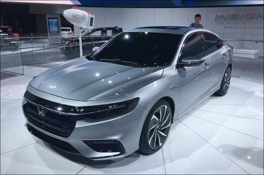 The 2018 Honda Insight New Review