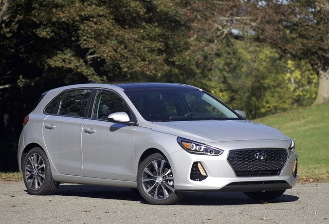 The 2018 Hyundai Elantra Gt Picture