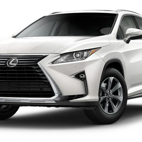 The 2018 Lexus Rx 350 Spy Shoot