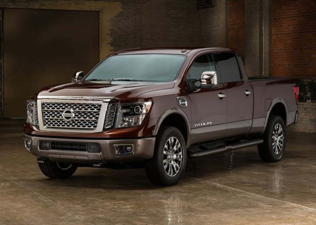 2018 Nissan Titan Xd New Interior