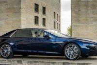 New 2019 Aston Martin Lagonda Sedan New Interior