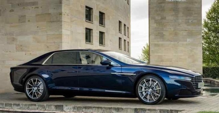 New 2019 Aston Martin Lagonda Sedan New Interior