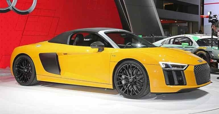 New 2019 Audi R8 Convertible Price and Release date