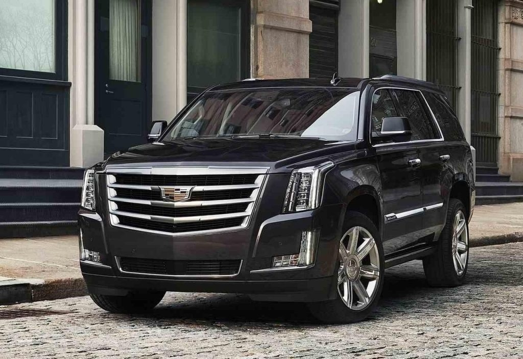 2019 Cadillac Escalade Vsport Spy Shoot