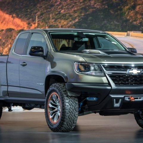 2019 Chevrolet Colorado Z72 Interior