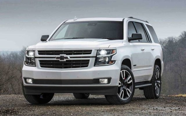 2019 Chevrolet Tahoe Release date and Specs