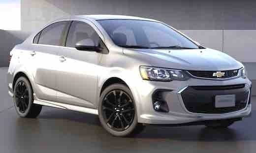 2019 Chevy Sonic Picture