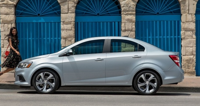 The 2019 Chevy Sonic Price and Release date