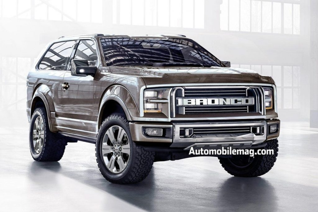 2019 Ford Bronco Concept First Drive
