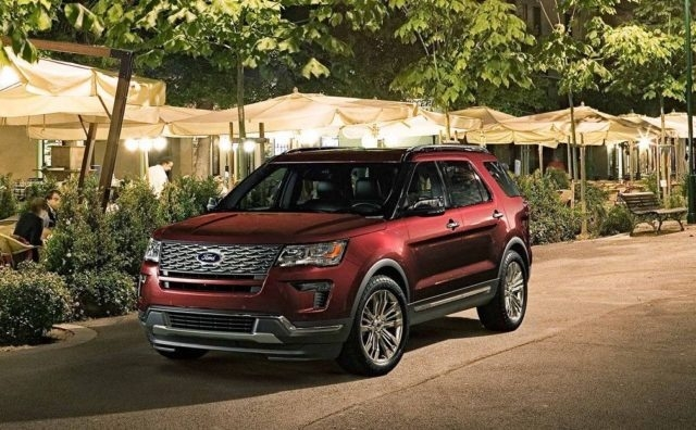 The 2019 Ford Explorer Interior