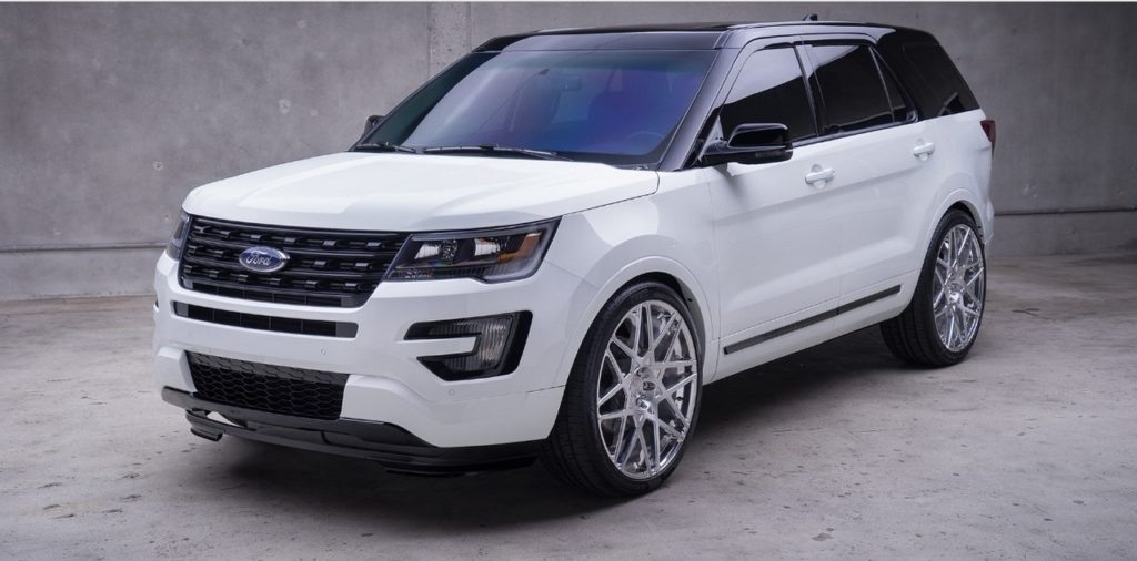 New 2019 Ford Explorer Sports Picture