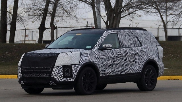 Best 2019 Ford Explorer Will Have Chance First Drive