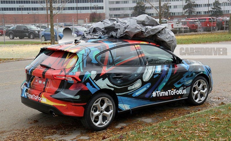 The 2019 Ford Focus Hatchback Picture
