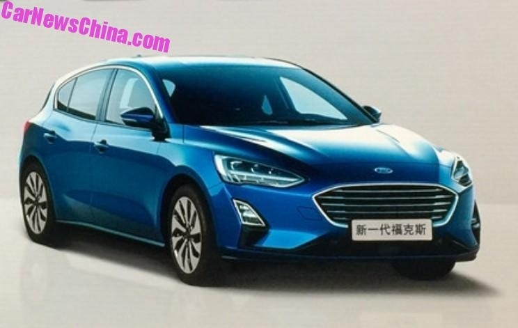 2019 Ford Focus Sedan Overview