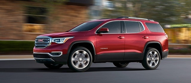 2019 GMC Acadia Spy Shoot