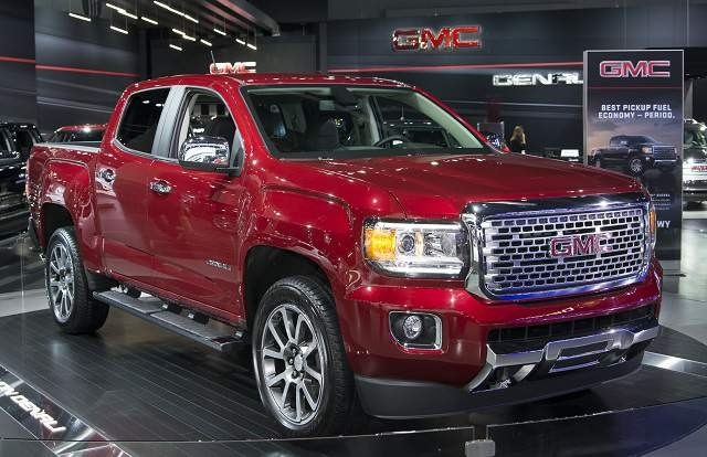 New 2019 GMC Canyon Sunroof Concept