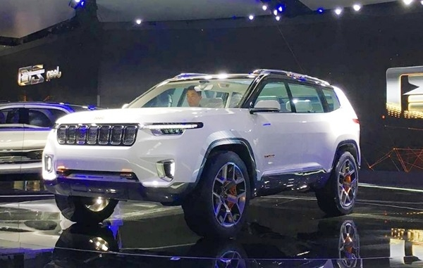 New 2019 Grand Cherokee Concept First Drive