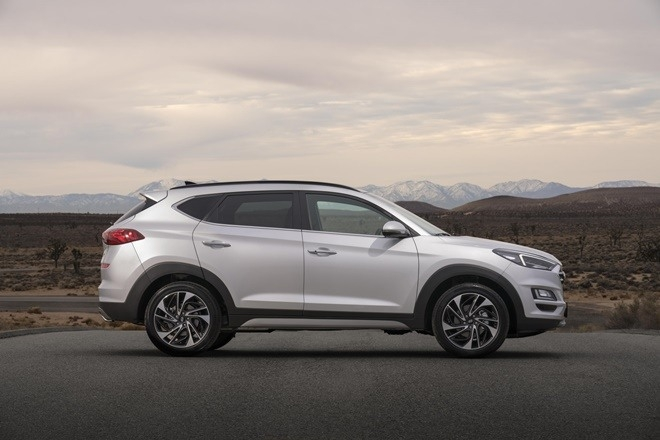 The 2019 Hyundai Tucson Fuel Cell Exterior