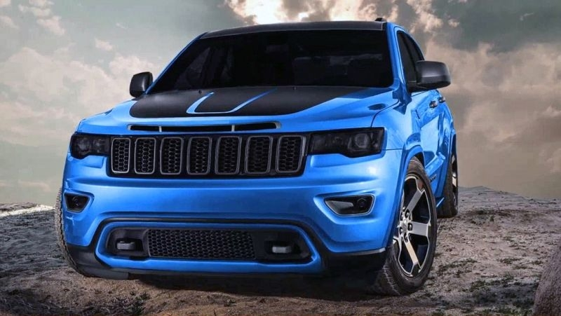 2019 Jeep Grand Cherokee Srt Hellcat Spy Shoot
