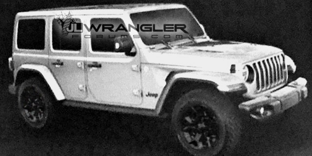 2019 Jeep Wrangler Diesel Picture