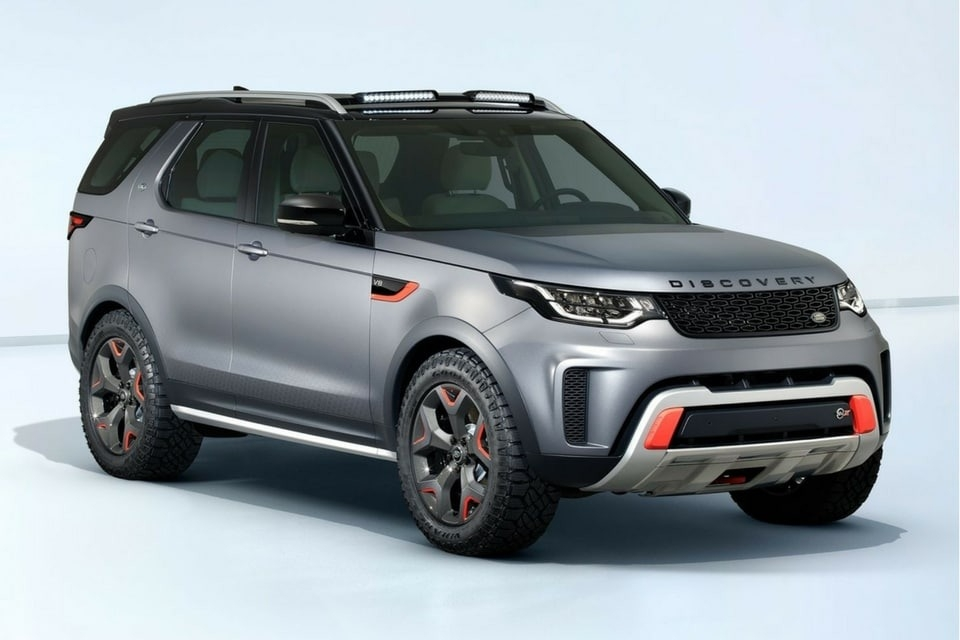 New 2019 Land Rover Discovery Exterior