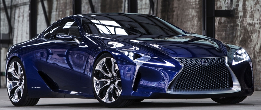The 2019 Lexus LF-LC First Drive