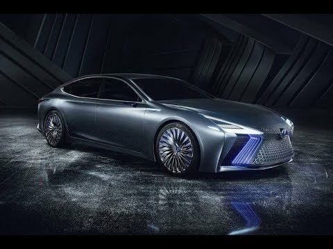 The 2019 Lexus Ls Concept Spy Shoot