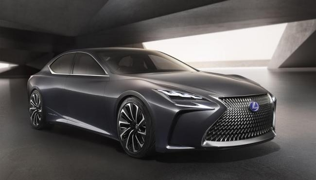 New 2019 Lexus Ls Concept Redesign