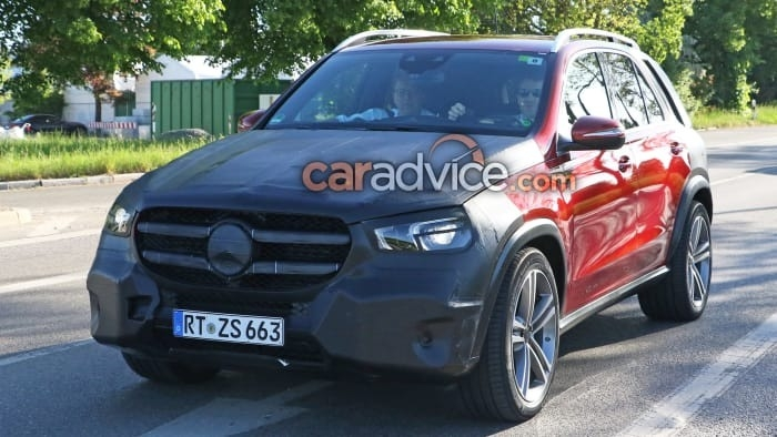 The 2019 Mercedes GLE Spy Shoot