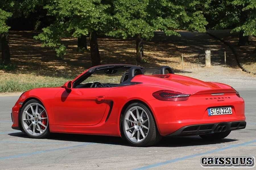 New 2019 Porsche Boxster Spyder Redesign and Price