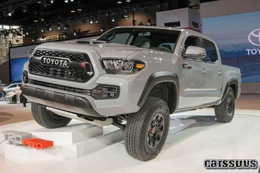 New 2019 Tacoma Toyota First Drive
