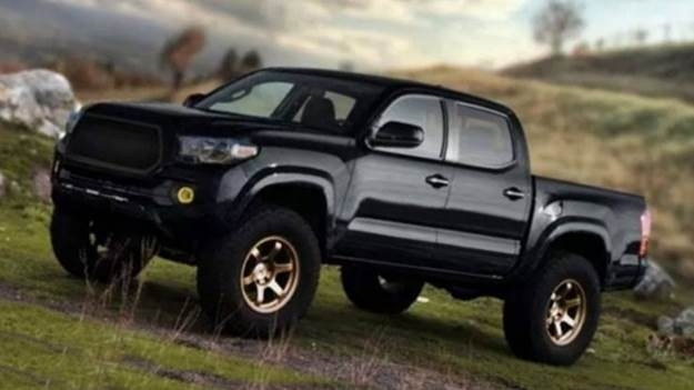 The 2019 Tacoma Toyota First Drive