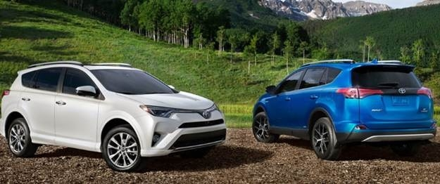 New 2019 Toyota Rav4 Hybrid New Interior