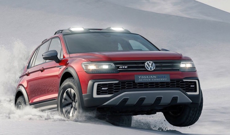 2019 Volkswagen Tiguan Spy Shoot