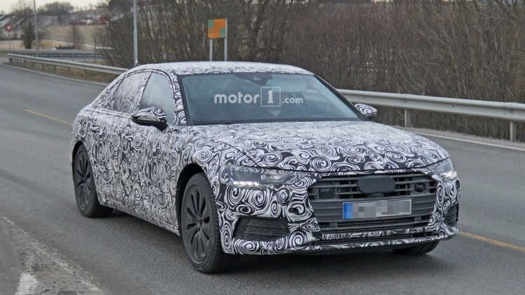 The Audi 2019 S6 Spy Shoot