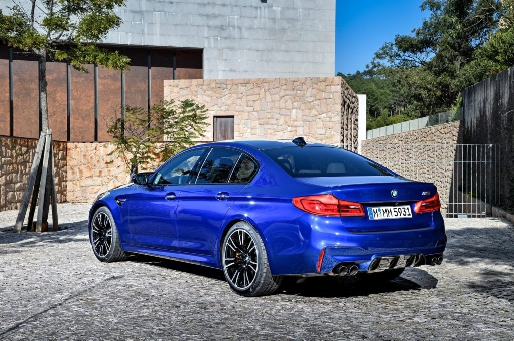 The 2018 BMW M5 Overview