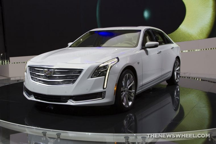 The 2018 Cadillac Ct6 Spy Shoot