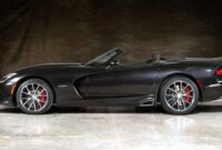 2018 Dodge Viper Roadster New Interior