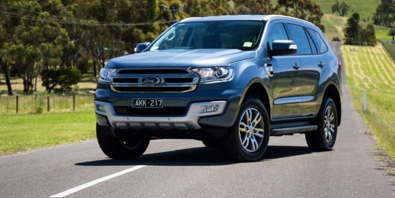 New 2018 Ford Everest Price