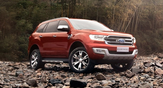 The 2018 Ford Everest Overview