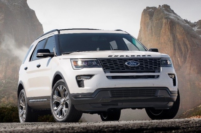 2018 Ford Explorer Release date and Specs