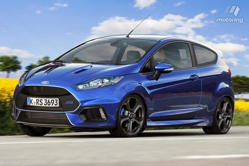 New 2018 Ford Fiesta St Rs New Interior